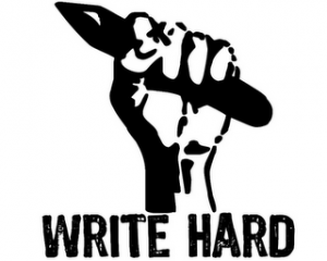Write Hard Award -  awarded by Bluebell Books